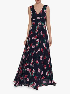 Read more about Gina bacconi edana floral maxi dress black multi