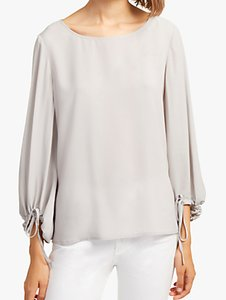 Read more about French connection crepe puff blouse perla