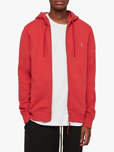 Read more about Allsaints raven hoodie flash red