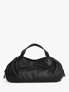 Read more about Gerard darel point 24 leather shoulder bag black