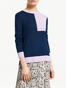 Read more about Finery roux knitted jumper navy lilac