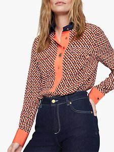 Read more about Damsel in a dress eden contrast shirt multi