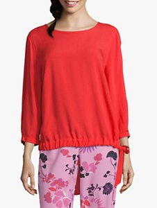 Read more about Betty barclay tie trim blouse hibiscus red