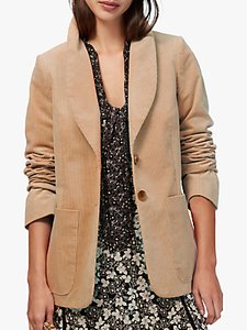 Read more about Brora jumbo cord blazer sand