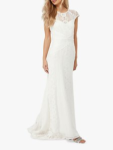 Read more about Monsoon meghan geo lace maxi wedding dress ivory