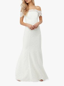 Read more about Monsoon sophie lace wedding dress ivory