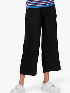 Read more about Brora textured linen utility trousers summer black
