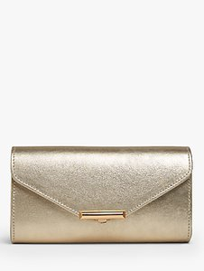 Read more about L k bennett lucy envelope leather clutch bag gold