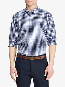 Read more about Polo ralph lauren plaid shirt navy multi