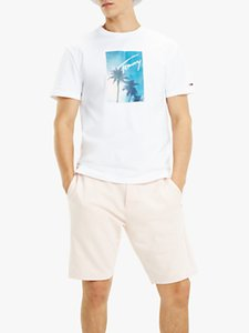 Read more about Tommy jeans photo print t-shirt classic white