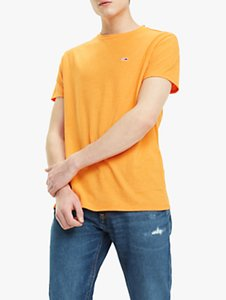 Read more about Tommy jeans blended t-shirt russet orange