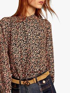 Read more about Gerard darel floral print chemise blouse black