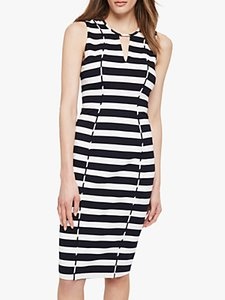 Read more about Damsel in a dress sade stripe dress black ivory