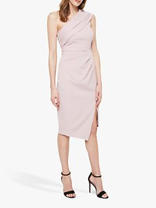 Read more about Damsel in a dress samira one shoulder midi cocktail dress blush