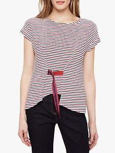 Read more about Damsel in a dress fitzroy stripe top navy red white