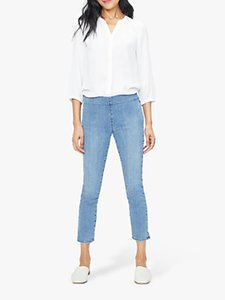 Read more about Nydj skinny ankle pull-on jeans aquino