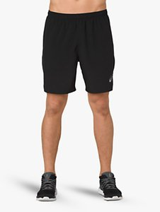 Read more about Asics silver 2-in-1 running shorts performance black