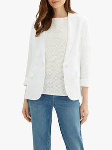 Read more about Jaeger classic linen blazer white