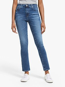 Read more about Ag the prima mid rise skinny ankle jeans 12 years fluid