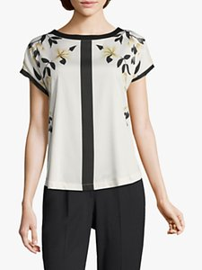 Read more about Betty co floral print top white