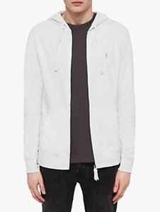 Read more about Allsaints brace full zip hoodie oyster