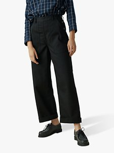 Read more about Toast denim side button trousers black
