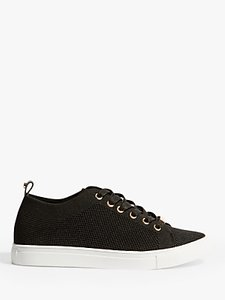 Read more about Karen millen knitted trainers black