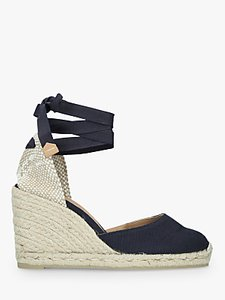 Read more about Casta er carina canvas wedge espadrilles