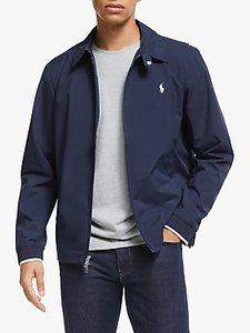 Read more about Polo ralph lauren bi-swing water-repellent heritage windbreaker jacket french navy