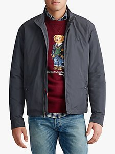 Read more about Polo ralph lauren surrey filled jacket charcoal grey
