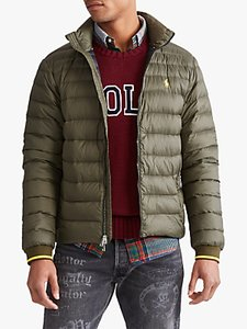 Read more about Polo ralph lauren holden down filled jacket dark loden