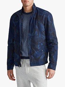 Read more about Polo ralph lauren surrey filled camo jacket blue camo