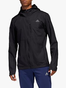 Read more about Adidas own the run hooded wind men s running jacket black