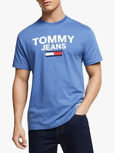 Read more about Tommy jeans novelty corp logo t-shirt dutch blue