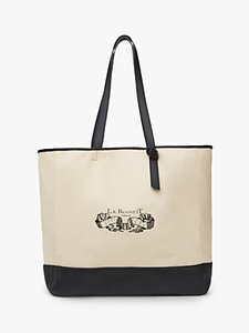 Read more about L k bennett lily tote bag beige black