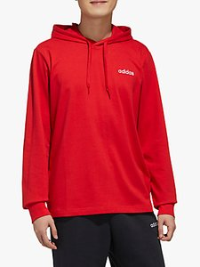 Read more about Adidas essentials single jersey hoodie scarlet white
