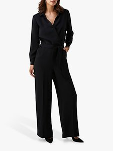 Read more about Pure collection belted jumpsuit black