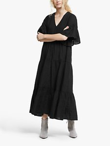 Read more about And or asher check texture midi dress black