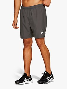 Read more about Asics silver 7 running shorts dark grey