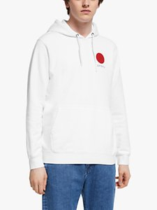 Read more about Edwin japanese sun hoodie white