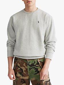 Read more about Polo ralph lauren fleece crew neck sweatshirt andover heather