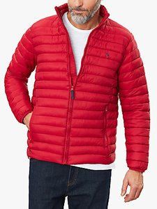 Read more about Joules hooded go to quilted jacket red