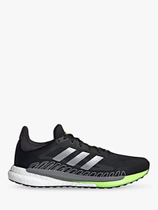 Read more about Adidas solarglide 3 men s running shoes core black silver met signal green