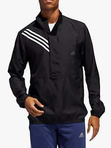 Read more about Adidas run it 3-stripes men s running jacket black