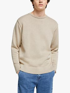 Read more about Garbstore the english difference cotton crew neck knit jumper