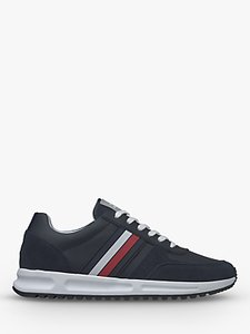 Read more about Tommy hilfiger suede leather trainers navy