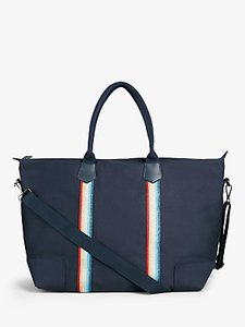 Read more about Hush fairfax canvas holdall navy glitter