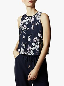 Read more about Ted baker jorggi pergola printed jumpsuit navy