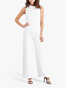 Read more about Damsel in a dress jovie wide leg jumpsuit white