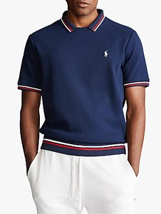 Read more about Polo ralph lauren jersey tennis top cruise navy